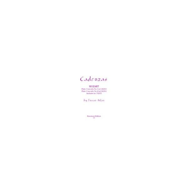Milan, Sarah - Cadenzas to Mozarts Flute Concerti