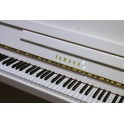 SOLD - Yamaha B1 Upright Piano in White Polyester