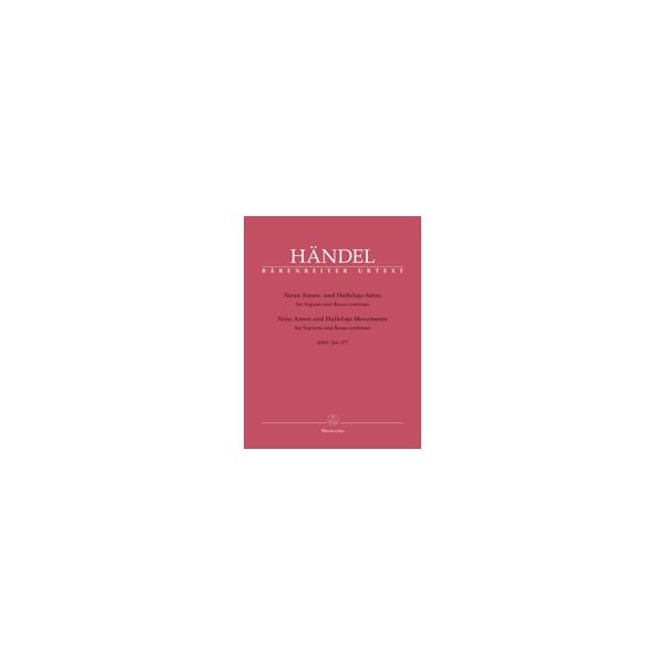 Handel, G F - Nine Amen & Alleluia Movements