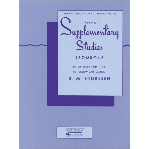 Endresen, R M - Supplementary Studies for Trombone