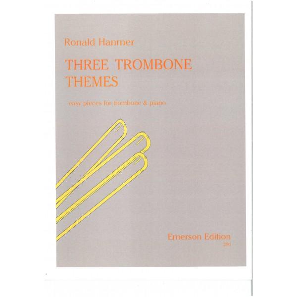 Hanmer, Ronald - Three Trombone Themes