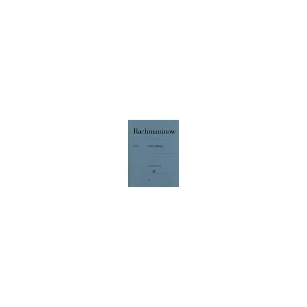 Rachmaninoff, Serge - Etudes Tableaux