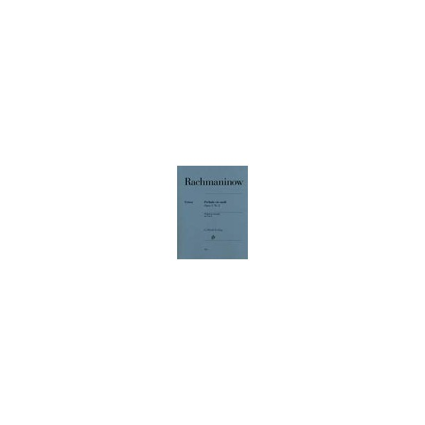 Rachmaninoff, Serge - Prelude Op3 Nº2