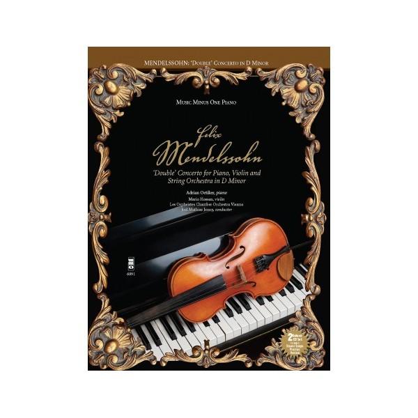 MENDELSSOHN: 'Double Concerto' for Piano - Music Minus One