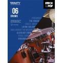 Trinity Rock & Pop Drums Grade Six From 2018