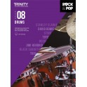 Trinity Rock & Pop Drums Grade Eight From 2018