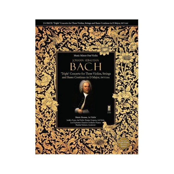 J.S. BACH: 'Triple' Concerto for Three Violins in D Major, BWV1064