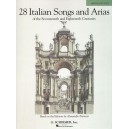 28 Italian Songs and Arias (Medium Low Voice)