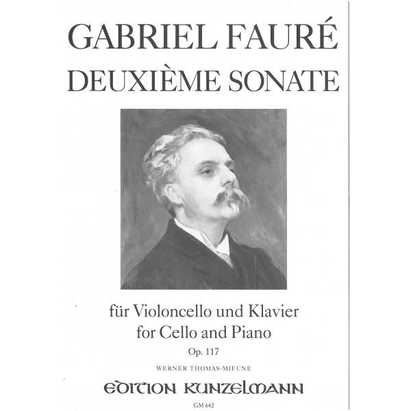 Faure, Gabriel - Second Cello Sonata Opus 117