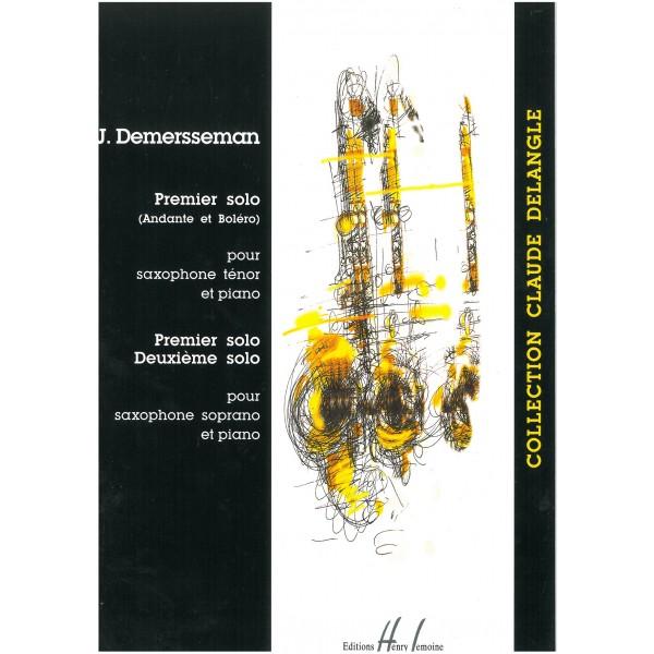 Demersseman, Jules-Auguste - Premier Solo
