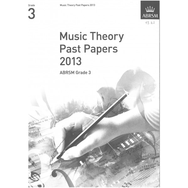 ABRSM Music Theory Past Papers 2013 Grade 3