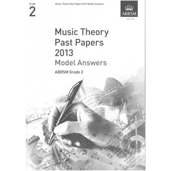 ABRSM Theory Model Answers 2013 Grade 2