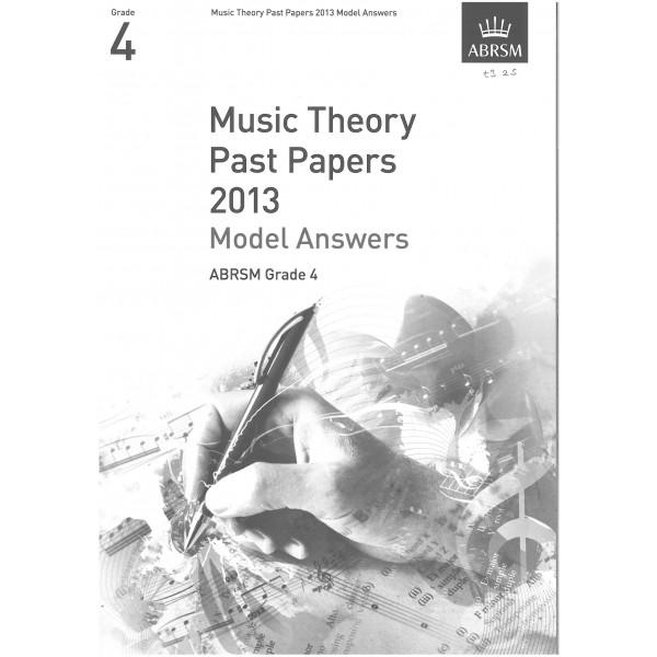 ABRSM Theory Model Answers 2013 Grade 4
