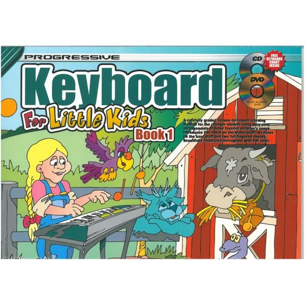Progressive Keyboard for Little Kids Book 1