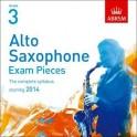ABRSM Alto Saxophone Exam Pieces CD Grade Three