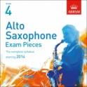 ABRSM Alto Saxophone Exam Pieces CD Grade Four
