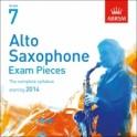 ABRSM Alto Saxophone Exam Pieces CDs Grade Seven
