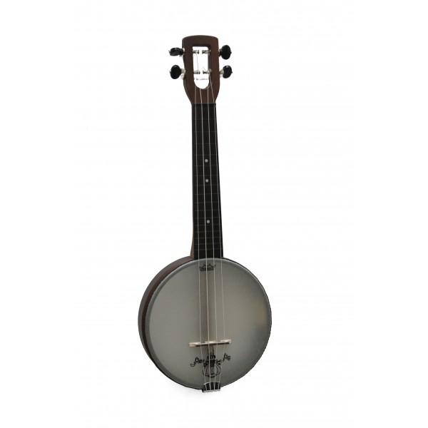 The Magic Fluke Company Firefly Soprano Banjo-Ukulele with plastic board