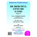Head, Michael - Be Merciful Unto Me, O God