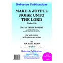 Head, Michael - Make a Joyful Noise unto the Lord