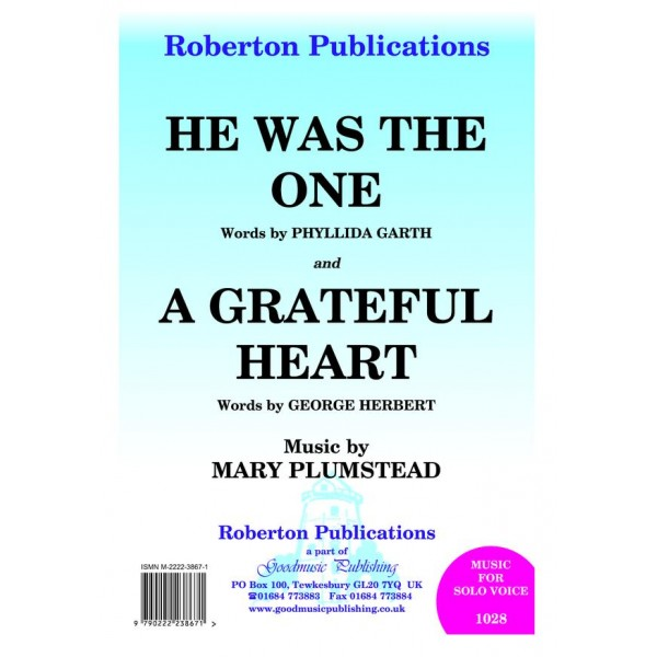 """Plumstead, Mary - """"He Was the One"""" & """"A Grateful Heart"""""""
