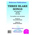 Raphael, Mark - Three William Blake Songs