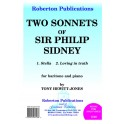 Hewitt-Jones, Tony - Two Sonnets of Sir Philip Sidney