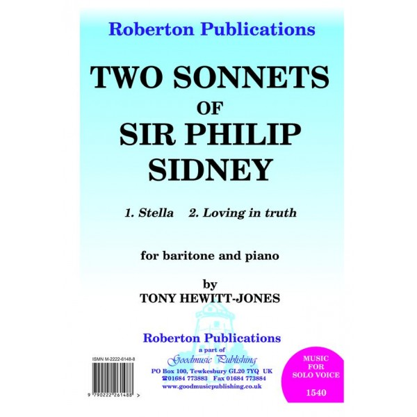 Hewitt-Jones, Tony - Two Sonnets of Sir Philip Sidney