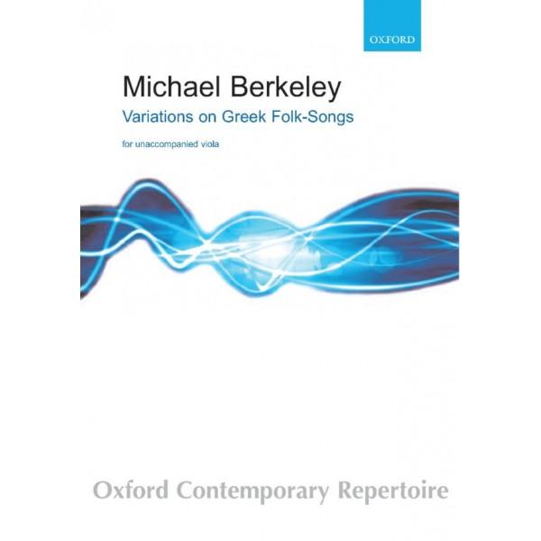 Berkeley, Michael - Variations on Greek Folksongs