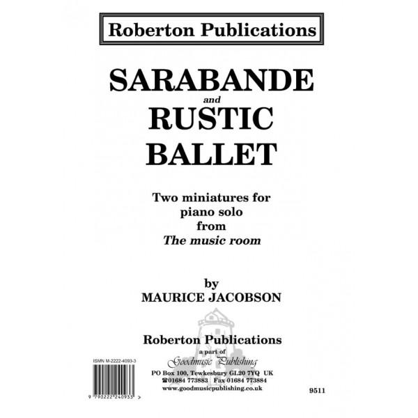 Jacobson, Maurice - Sarabande & Rustic Ballet