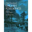 Cecil Sharp (Ed): One Hundred English Folksongs - 0