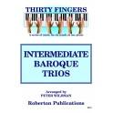 Intermediate Baroque Piano Trios arr Peter Wildman (CD)