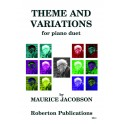Jacobson, Maurice - Theme & Variations (Piano Duet)