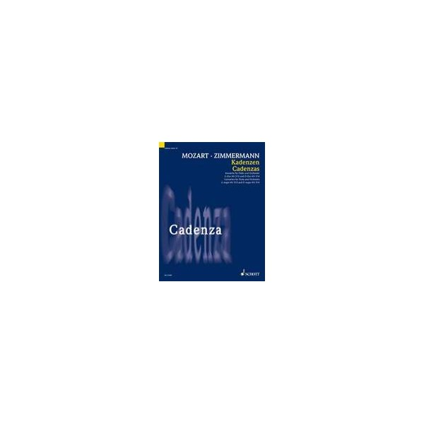 Mozart/Zimmermann - Cadenzas to Flute Concerti
