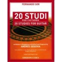 Sor, Fernando - 20 Studies for Guitar