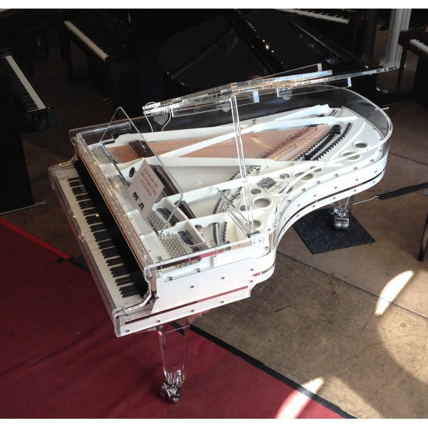 Schimmel K213T glass grand piano