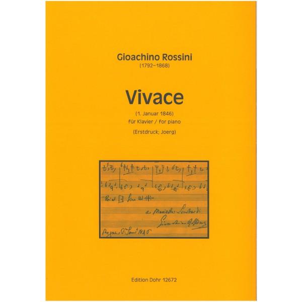 Rossini, Gioacchino - Vivace