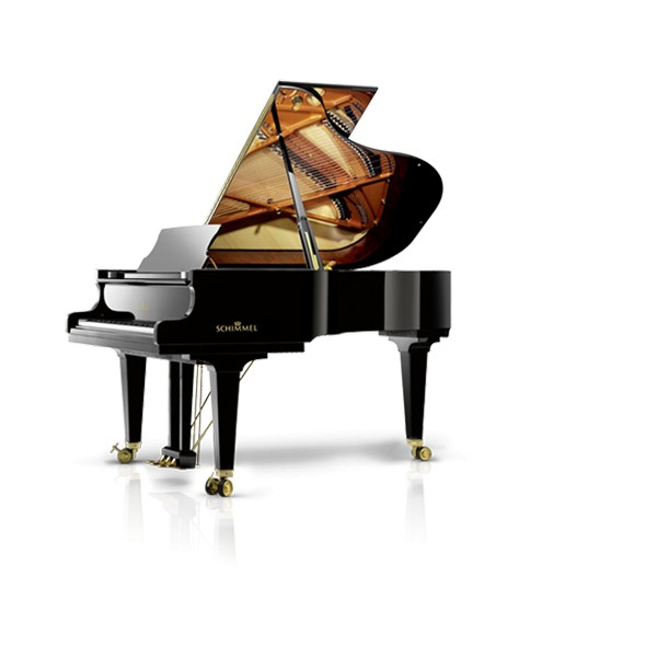 Schimmel Konzert K195T Grand Piano in Black Polyester