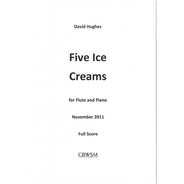 Hughes, David - Five Ice Creams