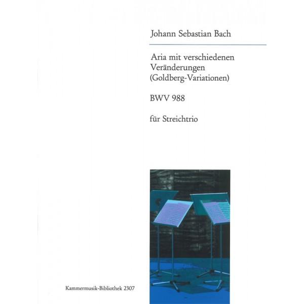Bach, J S - The Goldberg Variations BWV988