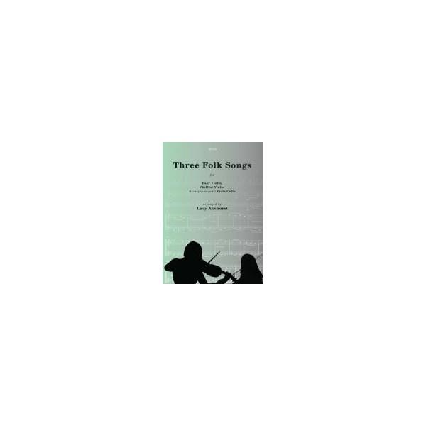 Three Folk Songs for Violin Duet