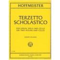 Hoffmeister, Franz Anton - Terzetto Scholastico
