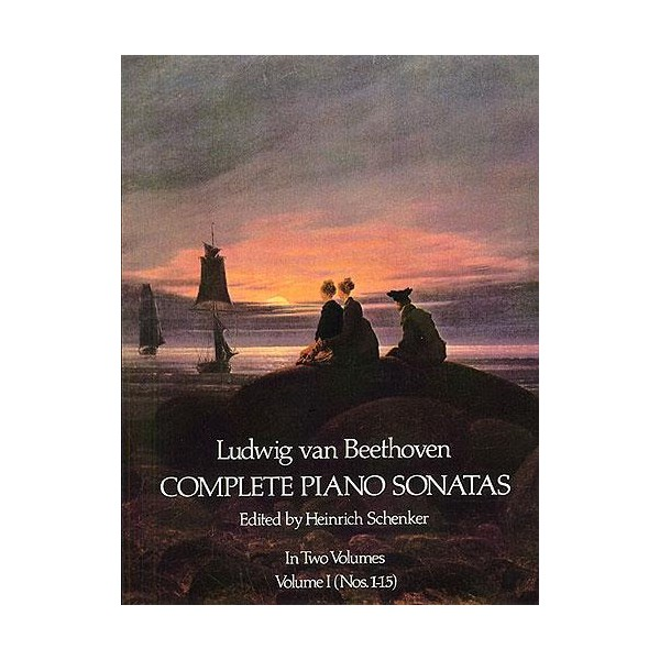 Beethoven: Complete Piano Sonatas - Volume I (Dover Edition) - Beethoven, Ludwig Van (Composer)