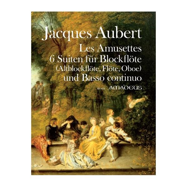 Aubert, Jacques - Les Amusettes Opus 14