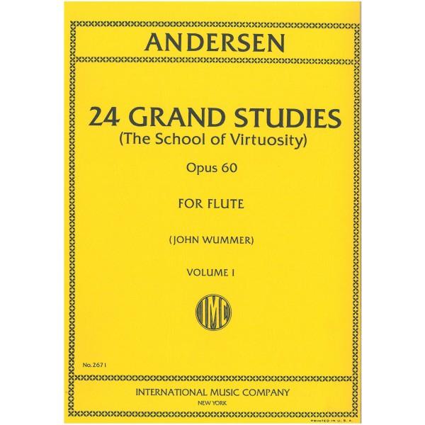 Andersen, Joachim - 24 Grand Studies Volume One