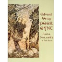 Edvard Grieg: Peer Gynt Suites 1 And 2 In Full Score - Grieg, Edvard (Artist)