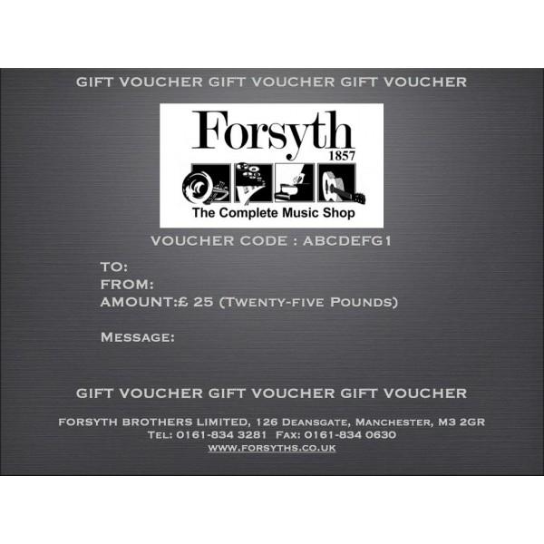 Gift Voucher - Twenty Five Pounds