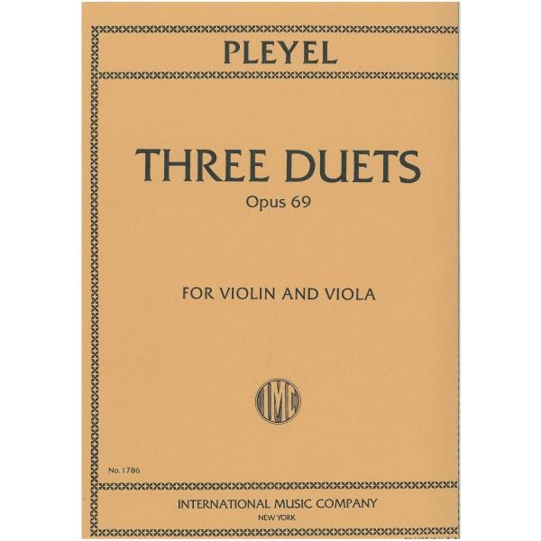 Pleyel, Ignaz - Three Duets Opus 69