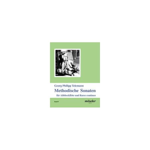 Telemann, G P - Methodical Sonatas Bk 4
