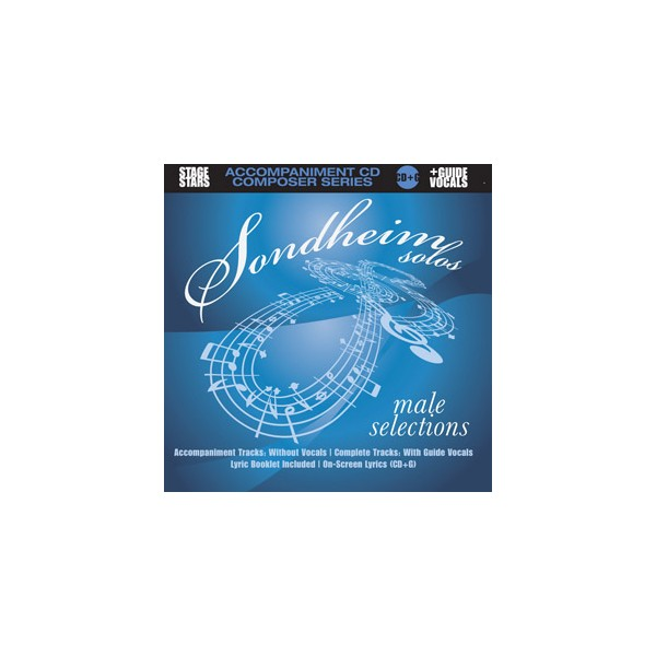 Sondheim Solos - Male Selections - Backing Tracks - Stage Stars